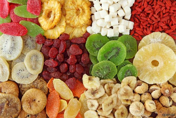 Правильное употребление сухофруктов при сахарном диабете